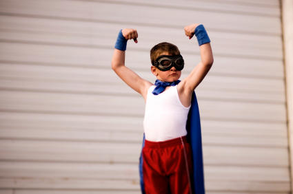 superhero post