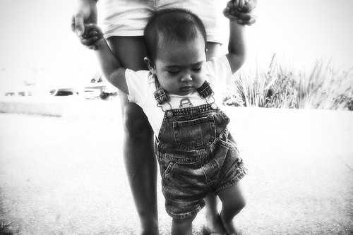 Baby Walks-post